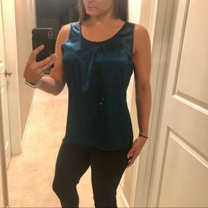 Chico's Silky Turquoise Blouse